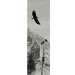 On the Wings of Winter - Bald Eagle by wildlife artist Rod Frederick