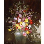 Out of the Darkness - Flowers by Carolyn Blish