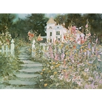 Pathway to the Past - House and Garden by Carolyn Blish