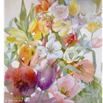 Tulip Tracery by Carolyn Blish