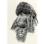 The Fur Trapper by Paul Calle