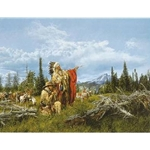 In the Land of the Teton Sioux by artist Paul Calle