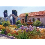 Big Little Mission Garden by California artist June Carey