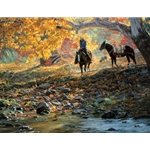 A Road Less Traveled by western artist Tim Cox