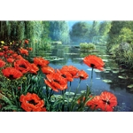 Springtime - Red Poppies by Peter Ellenshaw