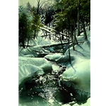 Winter Brook by Nita Engle