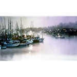 Evening Harbor by Nita Engle