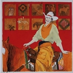 Back in the Saddle by cowgirl artist Donna Howell-Sickles
