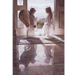 Count Your Blessings - two girls dressed as angels by artist Steve Hanks