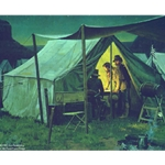 Command Tent by artist Don Spaulding