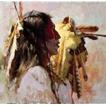 Proud Men by western artist Howard Terpning