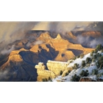 March, Yavapai Point - Grand Canyon view by landscape artist Robert Peters