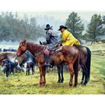 When This Weather Quits,...by cowboy artist Bob Coronato