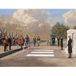 In Honored Glory - Tomb of the Unknown Soldier in Arlington Cemetery by artist Bradley Schmehl
