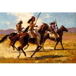 Light Cavalry by western artist Howard Terpning