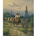 Oil Field Cowhand by G. Harvey