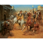 Our Grand Entrance - outlaws come to town by Andy Thomas