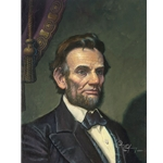 Study for Abraham Lincoln: The Great Emancipator by artist Dean Morrissey