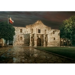 The Alamo by realist artist Rod Chase