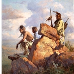 Among the Spirits of the Long-Ago People by Howard Terpning