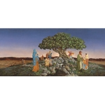 Desirable Above All Other Fruit - Tree of life by James Christensen