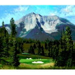 16th Hole, The Reserve At Moonlight Basin by R. Tom Gilleon