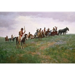 Whiskey Smugglers by artist Howard Terpning