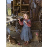 The Chef´s Daughter - Chuck Wagon 1892 by Morgan Weistling
