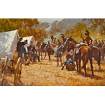 ~ Major North and Pawnee Battalion - Indian battalion by western artist Howard Terpning