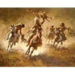 ~ Mystic Power of the War Shield - by Howard Terpning