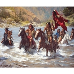 Capturing the Chief's Coat by Howard Terpning