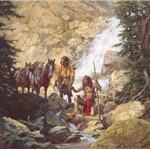 ~ The Trackers by Howard Terpning