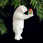 Bearing Gifts - Christmas ornament by Will Bullas