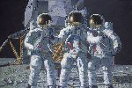 Conrad, Gordon and Bean The Fantasy by astronaut artist Alan Bean