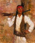 Chiricahua Scout by Tom Lovell