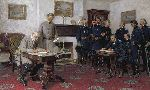 Surrender at Appomattox by Civil War artist Tom Lovell
