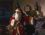 Father Christmas - Santa Claus by fantasy artist Dean Morrissey