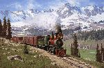 Colorado Narrow Gauge by railroad artist Tucker Smith