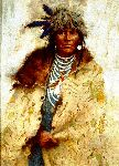 Talking Robe by western artist Howard Terpning