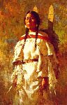 Cheyenne Mother by Howard Terpning