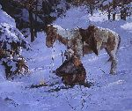 Small Comfort by western artist Howard Terpning
