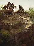 The Cache by western artist Howard Terpning