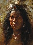Blood Man by Howard Terpning