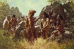 Scout's Report by western artist Howard Terpning