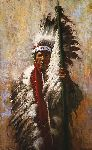 The Strength of Eagles by western artist Howard Terpning