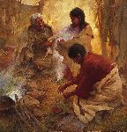 Passing Into Womanhood by western artist Howard Terpning