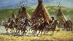 Capture of the Horse Bundle by Howard Terpning