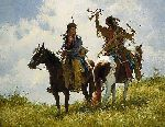 The Trophy by western artist Howard Terpning