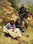 War Stories by western artist Howard Terpning