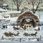 'Twas the Twilight Before Christmas by Charles Wysocki